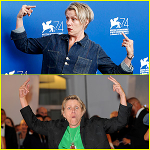 Frances McDormand Got Very Animated During Venice Events!