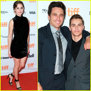 Dave Franco Joined By Alison Brie & James Franco at 'Disaster Artist' Premiere
