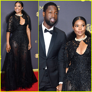 Gabrielle Union & Dwyane Wade Arrive in Style for Emmys 2017