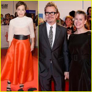 Gary Oldman & Kristin Scott Thomas Bring 'Darkest Hour' to TIFF 2017