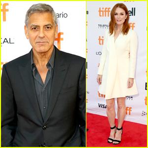 George Clooney & Julianne Moore Bring 'Suburbicon' to TIFF