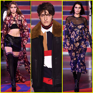 Gigi Hadid Walks in Tommy Hilfiger Show with Siblings Bella & Anwar!