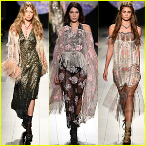 Gigi Hadid Loses High Heel Mid-Runway During Anna Sui Show (Video)