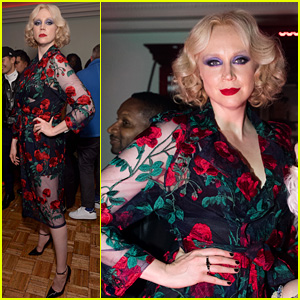 Gwendoline Christie Ditches Her 'Game of Thrones' Garb for Sheer Floral Gown