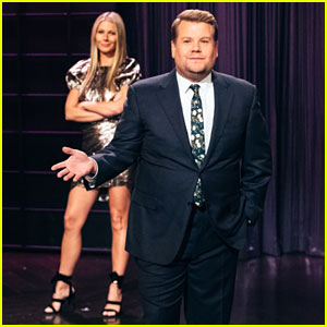 Gwyneth Paltrow Crashes James Corden's Monologue as He Insults Goop!