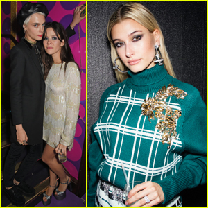 Hailey Baldwin & Cara Delevingne Celebrate 'Love' With Miu Miu