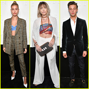 Hailey Baldwin, Paris Jackson, & Cameron Dallas Wear the Pants at NYFW Kickoff Party