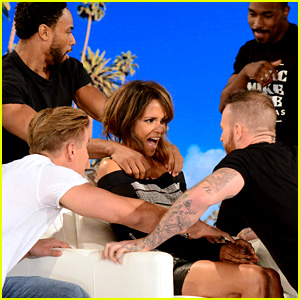 Halle Berry Gets a 'Magic Mike' Surprise from Channing Tatum on 'Ellen' - Watch Now!
