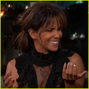 Halle Berry Explains Her Silly & Sexy Toilet Instagram Pic on 'Jimmy Kimmel Live'!