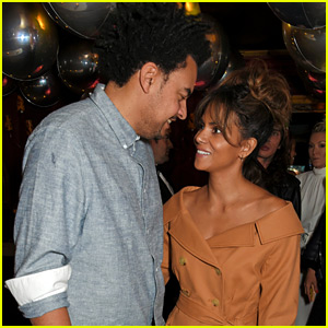 Halle Berry Makes First Appearance with Boyfriend Alex Da Kid!