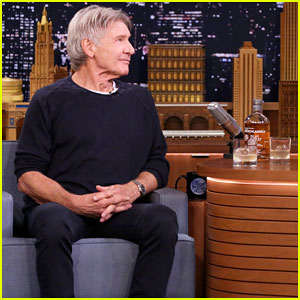 Harrison Ford & Jimmy Fallon Sip Scotch & Tell Each Other Jokes on 'The Tonight Show' - Watch Here!