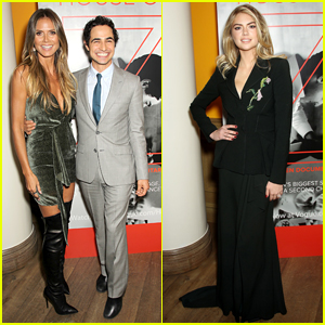 Heidi Klum & Kate Upton Attend 'House of Z' Premiere in New York City