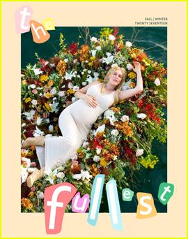 Heidi Montag Strips Down For Pregnancy Shoot for 'The Fullest'