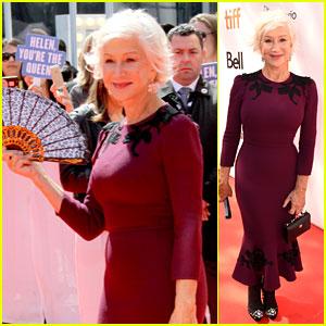 Helen Mirren Brings Regal Glamour to 'The Leisure Seeker' Premiere at TIFF 2017