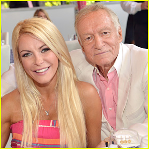 Hugh Hefner's Wife Crystal Harris Will Be Left with Millions & a Mansion