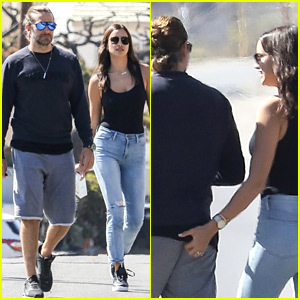 Irina Shayk Playfully Grabs Bradley Cooper's Butt During Sunday Stroll