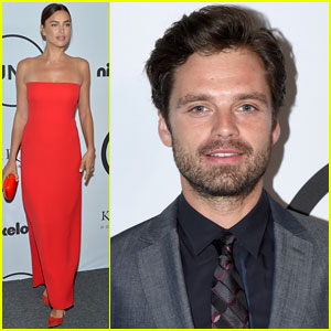 Irina Shayk & Sebastian Stan Support Unitas' Cause in NYC