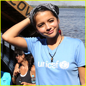 Isabela Moner Is 'Humbled & Honored' To Be Part of UNICEF Trip