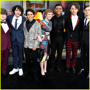 The 'It' Kids Walk Red Carpet Together at Hollywood Premiere!