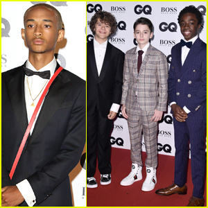 Jaden Smith Joins the Guys of 'Stranger Things' at GQ Men of the Year Awards