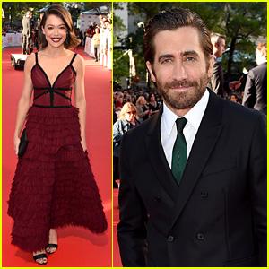 Jake Gyllenhaal & Tatiana Maslany Premiere 'Stronger' at TIFF