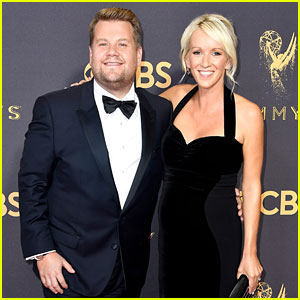 James Corden & Wife Julia Carey Look Cute Together at Emmys 2017!