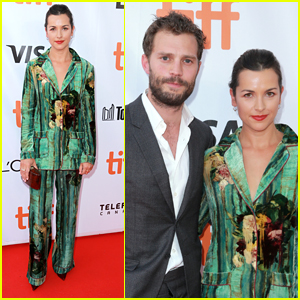Jamie Dornan Supports Wife Amelia Warner at 'Mary Shelley' TIFF Premiere