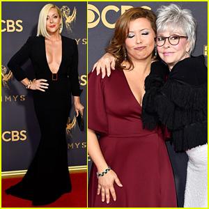 Jane Krakowski & Justina Machado Get Glam For Emmys 2017