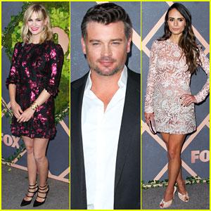 January Jones, Tom Welling & Jordana Brewster Kick Off Fall Season at Fox Premiere Party!