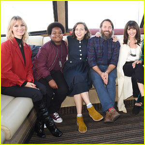 January Jones & Will Forte Celebrate 'Last Man On Earth' Season 4 with Cast Cruise Party!