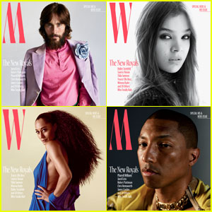 Jared Leto, Hailee Steinfeld, Pharrell & More Cover 'W' Mag!