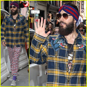 Jared Leto's Style Praised By Gucci's Alessandro Michele