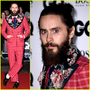 Jared Leto Wears His Signature Gucci Style at GQ Men of the Year Awards!