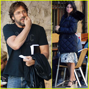 Javier Bardem & Penelope Cruz Begin Filming Their New Movie in Spain