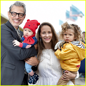 Jeff Goldblum is Supported by Wife Emilie & Two Sons at Deauville Film Fest!