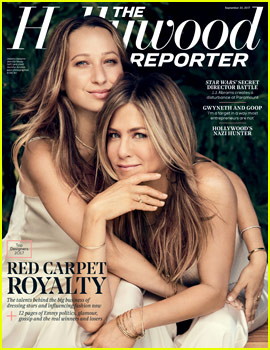 Jennifer Aniston & Jennifer Meyer Cover THR's Best Designers Issue!