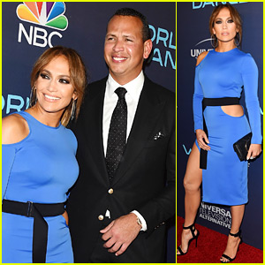 Jennifer Lopez & Alex Rodriguez Couple Up at 'World of Dance' Event!