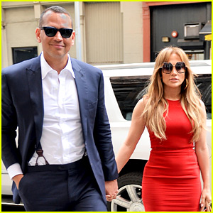 Jennifer Lopez Is Red Hot at Lunch with Alex Rodriguez!