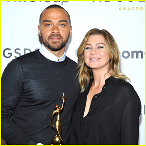 Jesse Williams is Supported by Ellen Pompeo at ADCOLOR Awards