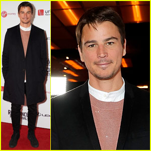 Josh Hartnett Makes First Red Carpet Appearance After Welcoming Second Child!