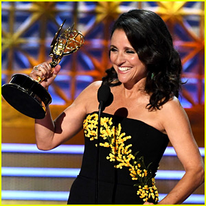 Julia Louis-Dreyfus Makes Emmys History, Hints at Trump's Impeachment During Speech!