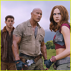 'Jumanji: Welcome to the Jungle' Trailer Is Jam-Packed with Action - Watch Now!