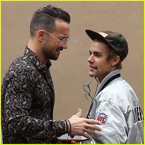 Justin Bieber Hits the Studio with His Hot Pastor in LA