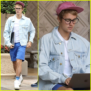 Justin Bieber Looks Studious After Sharing Black Lives Matter Support