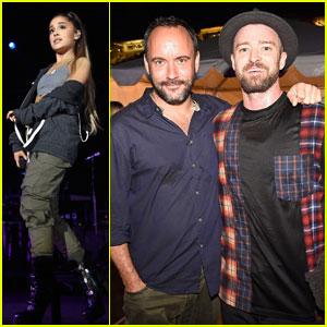 Justin Timberlake, Ariana Grande & More Unite for Concert for Charlottesville!