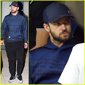 Justin Timberlake Attends U.S. Open Again, This Time Sans Jessica Biel