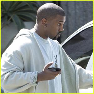Kanye West Stays Quiet on Baby News with Kim Kardashian