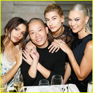 Karlie Kloss & Emily Ratajkowski Celebrate With Swarovski During Paris Fashion Week!