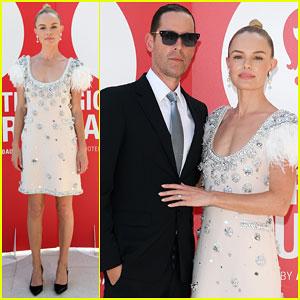 Kate Bosworth & Hubby Michael Polish Glam Up for 'Miu Miu Women's Tales' Venice Premiere!