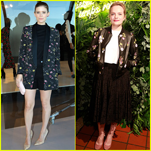 Kate Mara & Elisabeth Moss Are Staying Busy During Fashion Week!